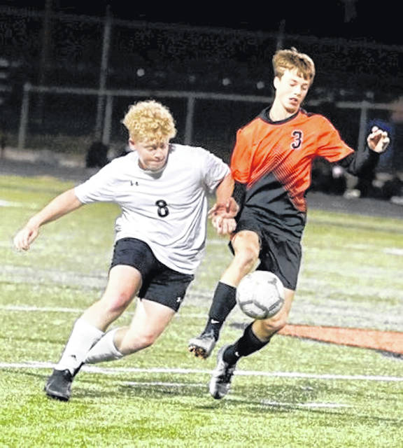 Wheelersburg junior Aaron Jolly (3) captured first-team Division III all-Ohio boys soccer honors, after being named the Division III Boys Player of the Year in the Southeast District.