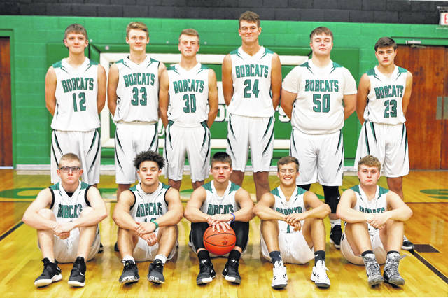 The 2019-20 Green Bobcats boys basketball team