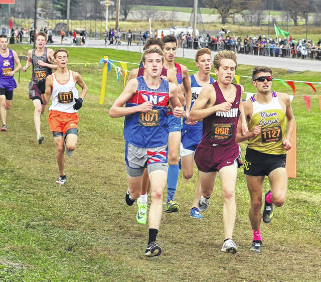 Northwest junior Landen Smith captured all-Ohio honors by finishing in 11th-place in Saturday's Division II boys state cross country race at National Trail Raceway.