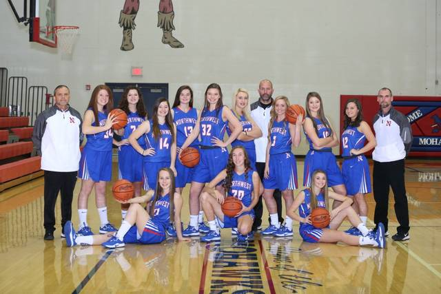 The 2019-20 Northwest Mohawks girls basketball team.