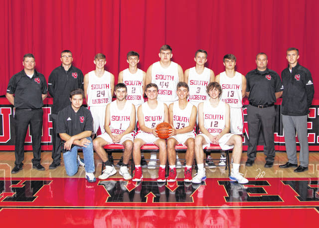 The 2019-20 South Webster Jeeps boys basketball team