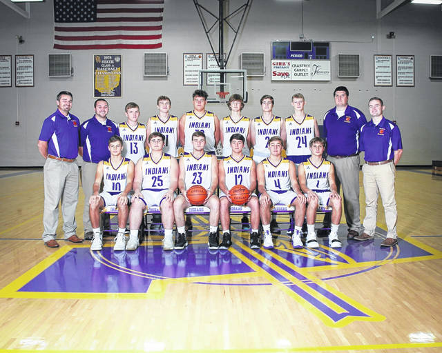 The 2019-20 Valley Indians boys basketball team.