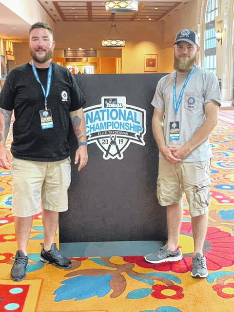 (Left to Right) Jordan Finfrock and Justin Donley at the Ideal National Championship