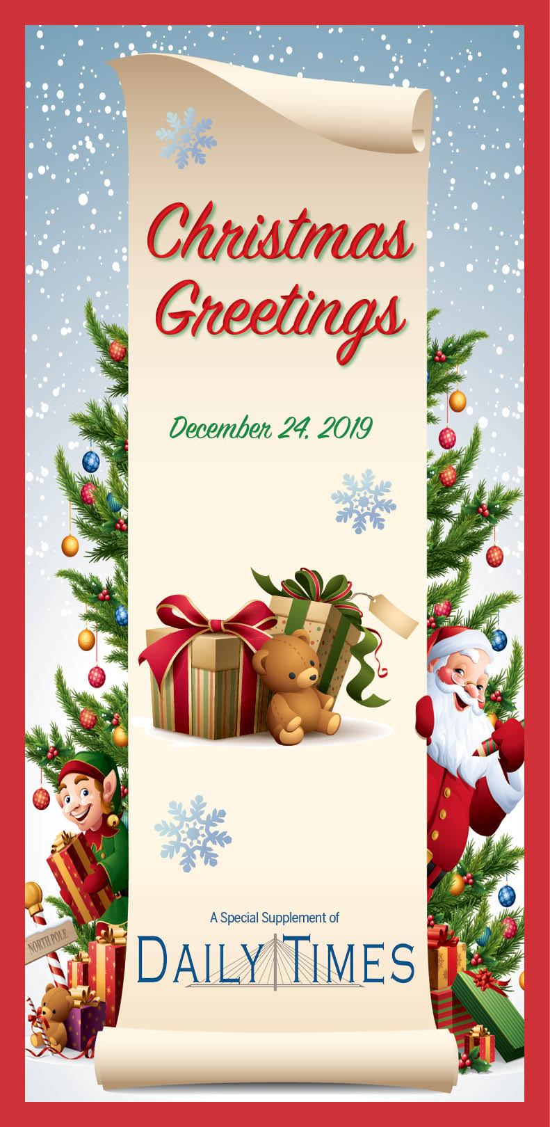 Christmas Greetings 2019