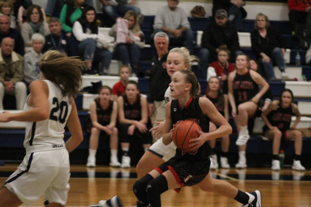 South Webster sophomore guard Bri Claxon leads all Scioto County girls basketball players in points per game average through Sunday, December 8th.