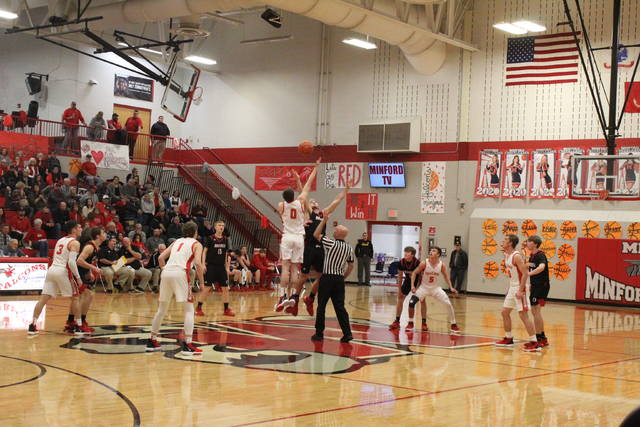 Minford fell at home to Oak Hill on Tuesday 55-49 in overtime in Southern Ohio Conference Division II play.