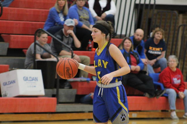 Clay's Shaley Munion scored seven points, grabbed nine rebounds, and dished seven assists in the Panthers 62-29 road win over Western on Thursday.