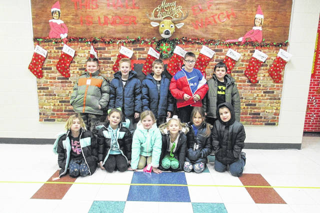 West Portsmouth Elementary students were given some of the donated coats.