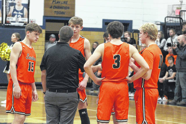 The West Senators improved to 2-0 with a 43-39 home win over Huntington Ross in their home-opener, Tuesday.