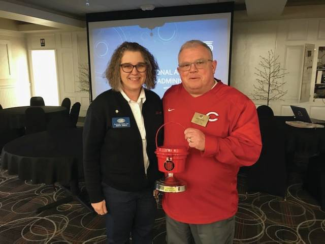 The Portsmouth Kiwanis was the top service club of the Red Kettle Season.