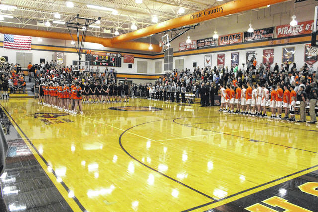 Wheelersburg fell to Waverly 67-58 in SOC II play on Tuesday.