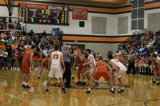 Wheelersburg fell to Ironton in non-league play on Saturday.