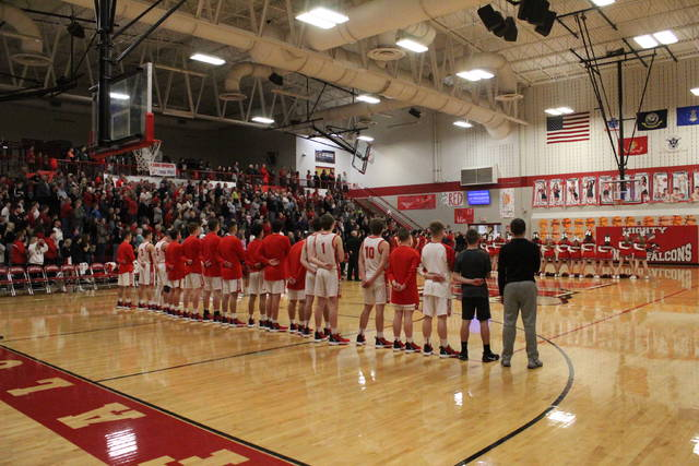 Minford hosted South Webster on Homecoming night for the Falcons in Southern Ohio Conference Division II play.