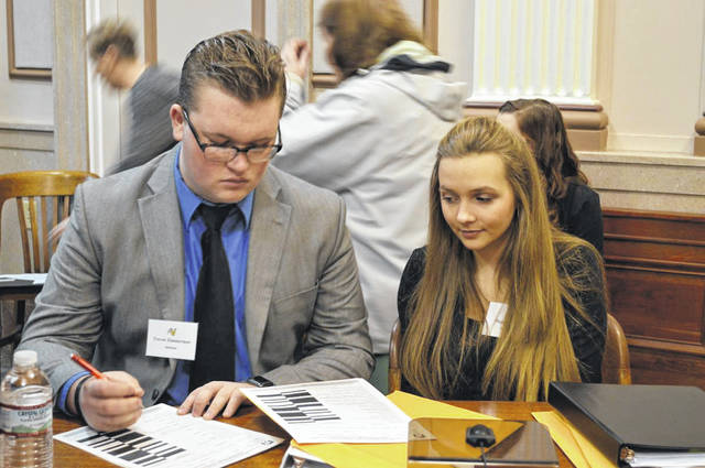 There are 11 teams from eight local schools participating in Scioto County District Mock Trial Competition on Jan. 17 at the Portsmouth Municipal Building and Scioto County Courthouse.
