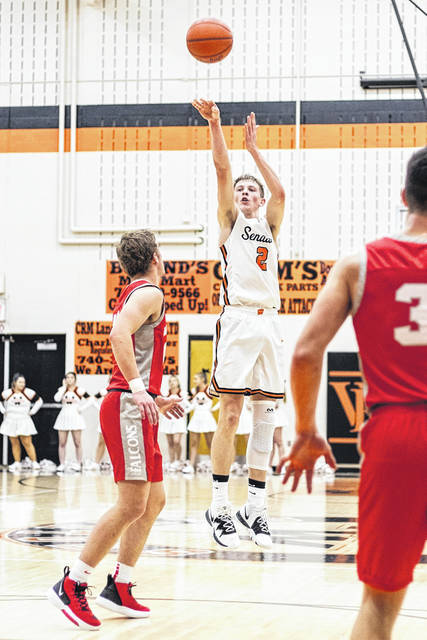 West senior Nick Davis (2) is averaging 12.5 points per game through the Senators' 5-9 start to the '19-20 season.