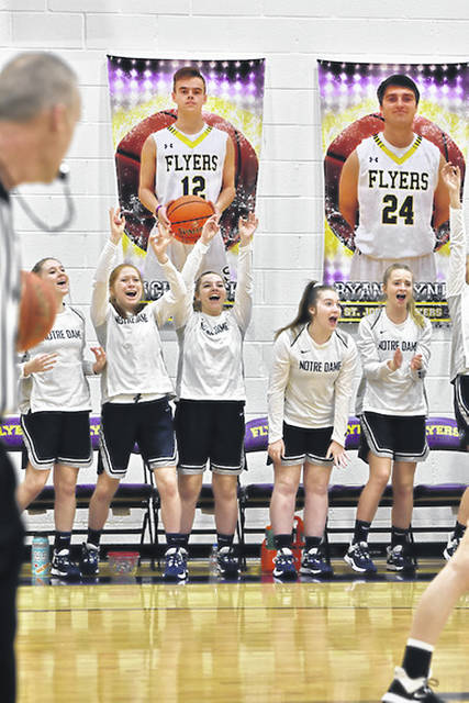 Notre Dame was ranked No. 3 in the Division IV girls basketball AP poll released Tuesday afternoon.