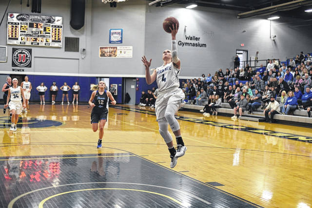 Shawnee State sophomore guard Brandie Snow led the Bears with a game-high 20 points, six rebounds, and four assists in their 89-78 win over Thomas More College in Mid-South Conference play.