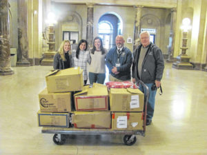 100 coats donated to Operation GRACE
