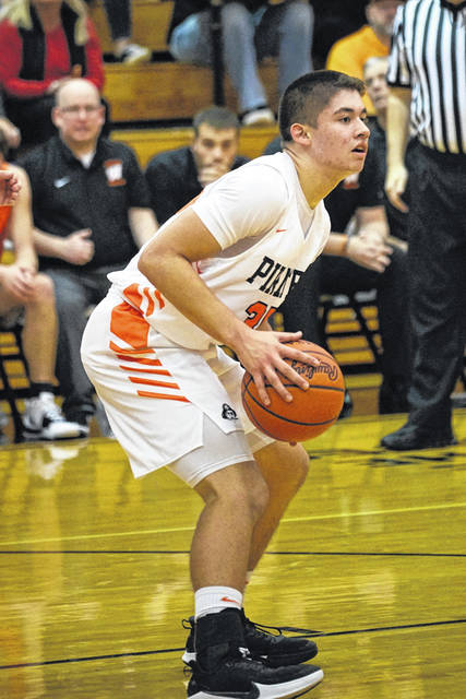Wheelersburg freshman Kenny Sanderlin