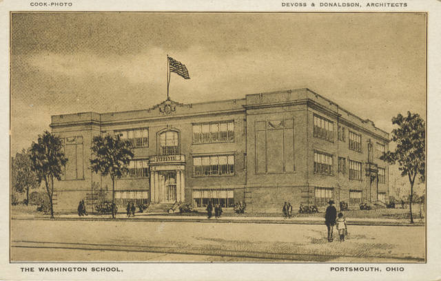 The Old Washington School in Portsmouth