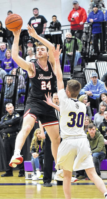 New Boston's Kyle Sexton (24) captured Division IV first-team all-Ohio honors from the Ohio Prep Sports Writers Association.