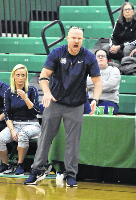 Notre Dame girls basketball coach J.D. McKenzie was selected as the Division IV Southeast District Girls Co-Coach of the Year, as chosen by the Ohio Prep Sports Writers Association.