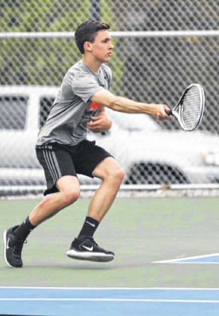 Wheelersburg High School junior Logan Davis, a Division II boys tennis district tournament qualifier from last season, is playing the waiting game as the 2020 spring sports season is delayed until at least May 1.