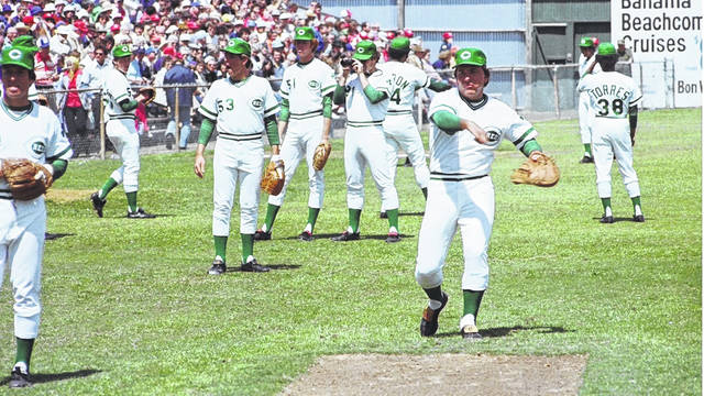 On March 17, 1978, the Cincinnati Reds became the first MLB club to don these green-trimmed uniforms for their St. Patrick's Day exhibition ahead of the start of the regular season. Despite finishing the 1978 season 92-69, the Reds would miss the playoffs with their second-place divisional finish. The 1978 season also marked the last of World Series champion manager Sparky Anderson during his nine-year tenure.