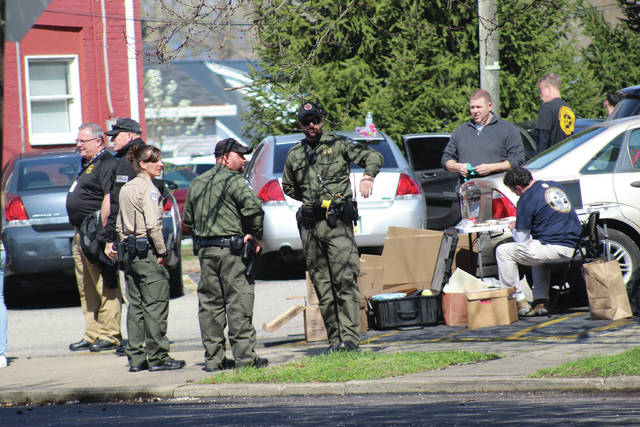 BCI agents searched Michael Mearns home March 26 in Portsmouth.
