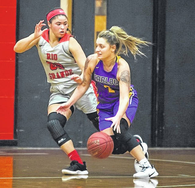 Rio Grande's Sydney Holden was named as an Honorable Mention selection to the NAIA Division II Women's Basketball All-America Team. Holden, a senior from Wheelersburg, led the RedStorm in scoring, rebounding and assists and was named the River States Conference Player of the Year.