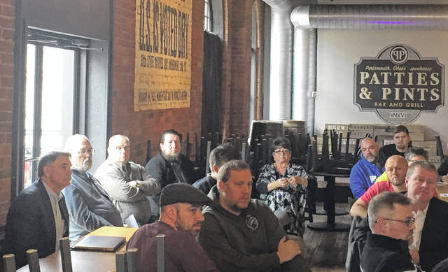 Several local restaurant owners met with local officials and health department representatives on Monday to discuss future plans through Covid-19 pandemic.