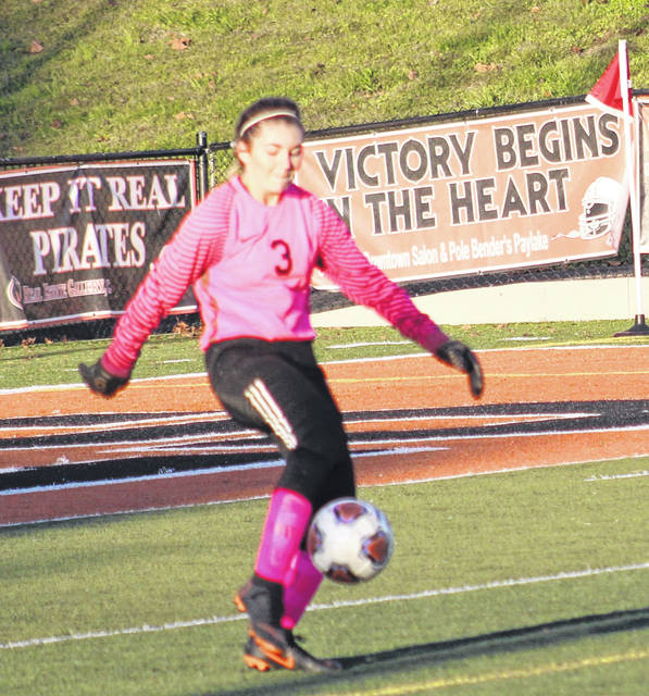 Wheelersburg High School goalkeeper Morgan Bivens captured Division II second-team all-Ohio girls soccer honors in her senior season.