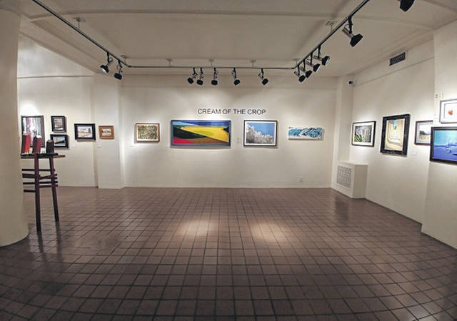 Some artwork from the 2018 Cream of the Crop exhibition, the biennial event hosted by the Southern Ohio Museum and Cultural Center.