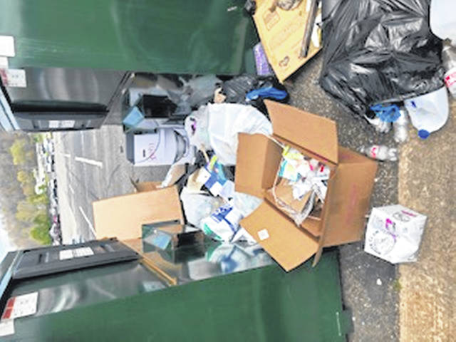 With only two supervisors left to clean up, the district is overwhelmed by trash.