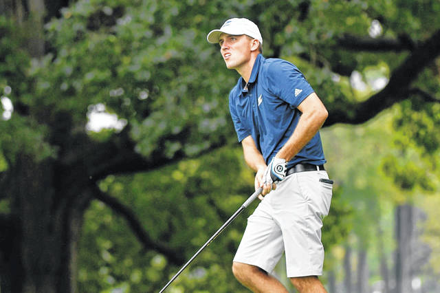 Wheelersburg's Mitchell McFarland was a senior on the University of Akron men's golf team this past academic year.