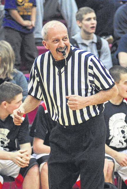 Dan McDavid, in addition to being Green's head baseball coach, was also a longtime Ohio High School Athletic Association and Southeast District basketball official.
