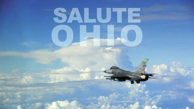 the Ohio Air National Guard will be doing a flyover salute Tuesday, May 12.