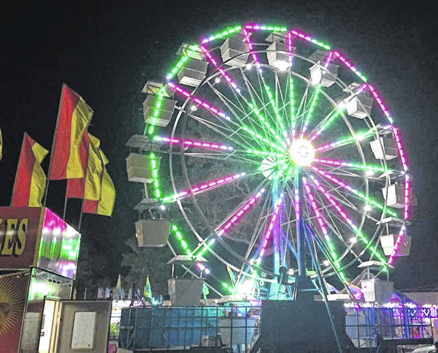 Rides will not appear at the 2020 fair.