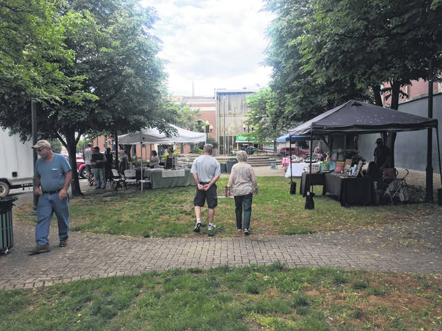 The Farmers Market will resume May 23