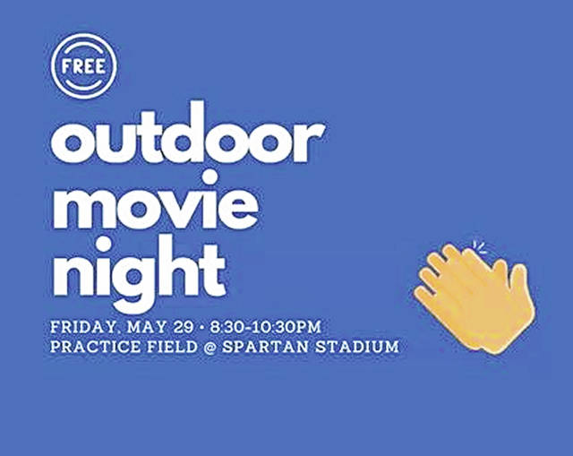 'Movies by Moonlight' will be hosted by Friends of Portsmouth and LifePoint Church Friday, May 29 at Spartan Municipal Stadium.