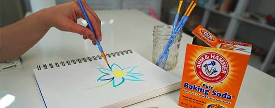 There are several fun DIY projects that can be done with Arm & Hammer Baking Soda