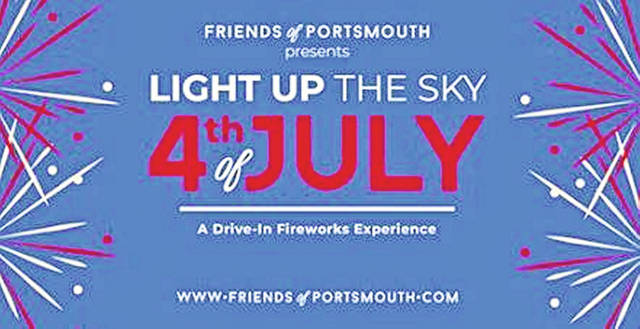 """Friends of Portsmouth will be partnering with WNXT to put on """"Light up the Sky 4th of July — A Drive-in Fireworks Experience"""" beginning Saturday, July 4 at 7:00 p.m. at Spartan Stadium in Portsmouth."""