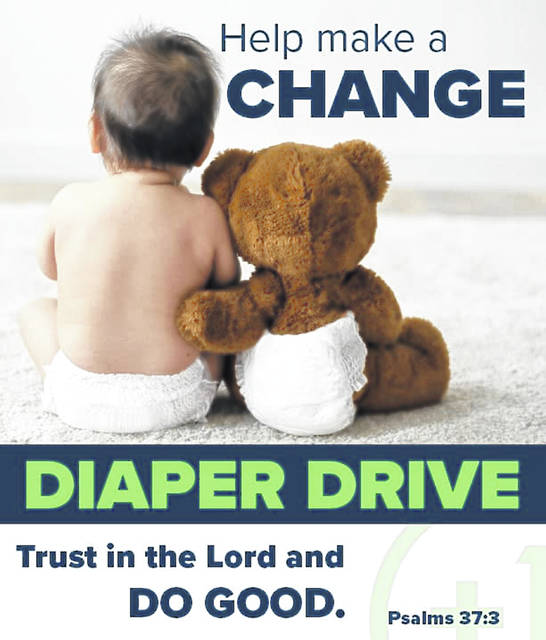 CRADLE is running a diaper/wipe drive through July 31, 2020