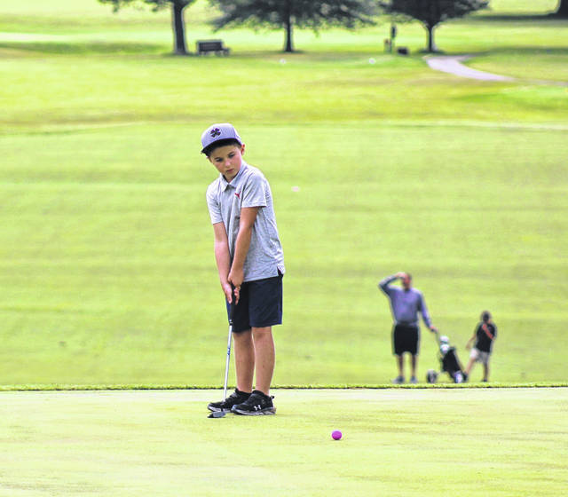 The 2020 Tri-State Junior Golf Tour made its second stop of the season at Elks Country Club on Monday.
