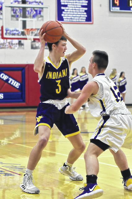 Valley's Ty Perkins and his returning Indians teammates will once again compete as a Division IV boys basketball program in the 2021 postseason tournament.