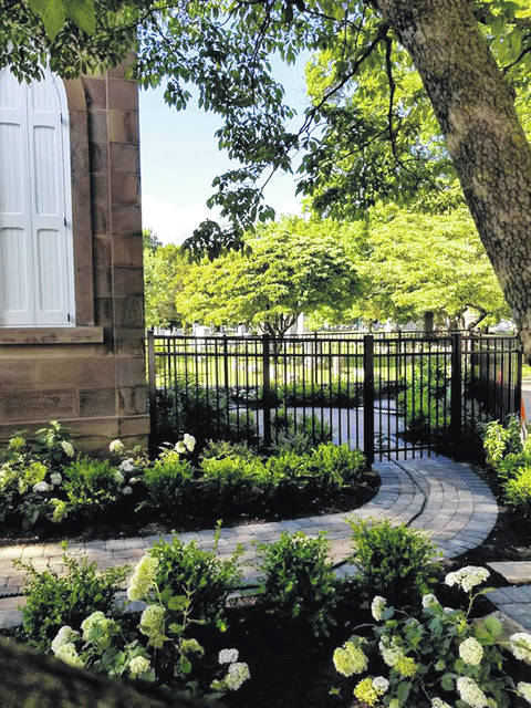 A new fence was recently installed at Greenlawn Cemetery's Chapel which was built in 1884 and has held funerals for Civil War veterans, WWI veterans, and civilians in its' history.