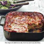 Lasagna With Broccoli and Three Cheeses
