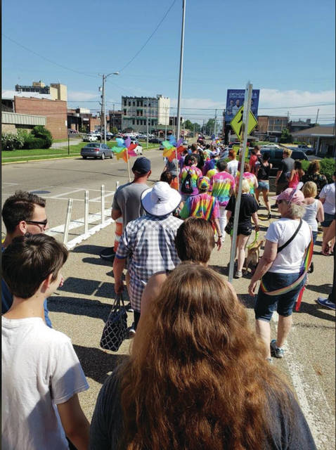 "Portsmouth PRIDE, an annual celebration in the city, welcomed city council's ""Discrimination Prohibited"" new chapter. Courtesy of Portsmouth PRIDE, photo from 2019."