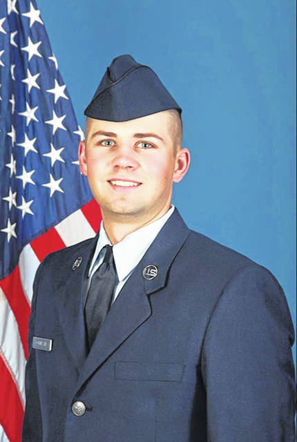 Trey Commeans, serving in the United States Force stationed at Shaw Air Force Base in Sumter, South Carolina.