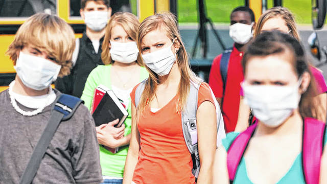 School Children wearing masks to school is in the plans